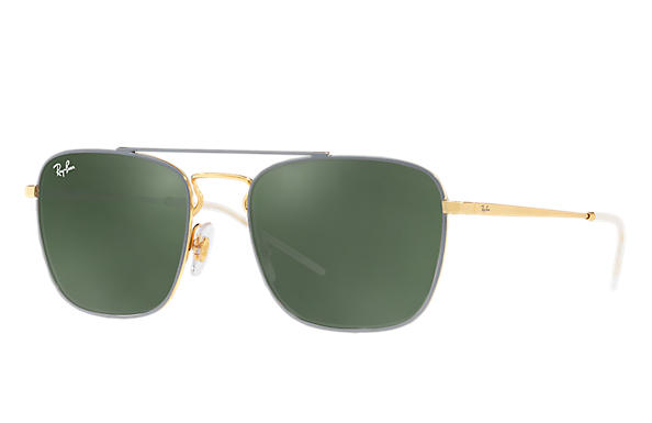 Ray-Ban 0RB3588-RB3588 Grey,Gold; Gold ROX_FRAME