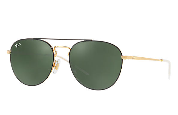 Ray-Ban 0RB3589-RB3589 Black,Gold; Gold ROX_FRAME