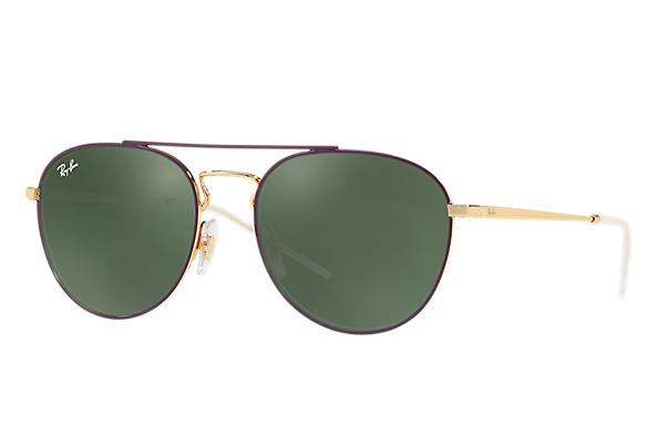 Ray-Ban 0RB3589-RB3589 Violet,Gold; Gold ROX_FRAME