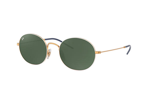 Ray-Ban 0RB3594-RAY-BAN BEAT White,Gold; Gold ROX_FRAME