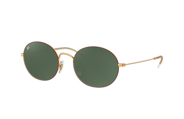 Ray-Ban 0RB3594-RAY-BAN BEAT Brown,Gold; Gold ROX_FRAME