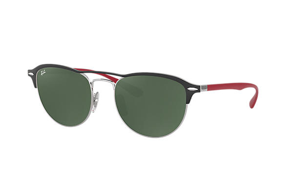 Ray-Ban 0RB3596-RB3596 Black; Red ROX_FRAME