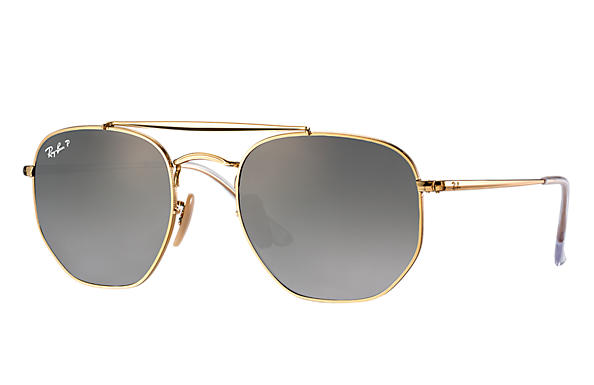 Ray-Ban  prescription sunglasses RB3648 MALE P003 marshal gold RX_8053672828047?roxLensPartNumber=Grey_Gradient_Polar_SV