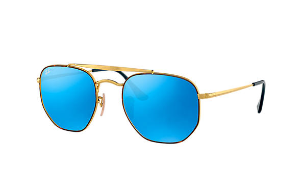 Ray-Ban 0RB3648-MARSHAL Havana,Gold; Gold ROX_FRAME