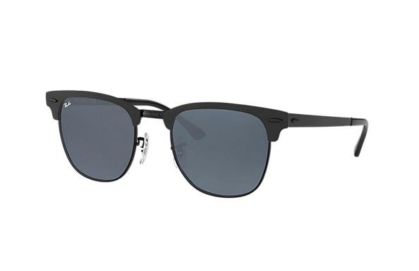 Ray-Ban  prescription sunglasses RB3716 UNISEX P003 clubmaster metal black RX_8053672867060?roxLensPartNumber=Blue_Gray_Classic_SV