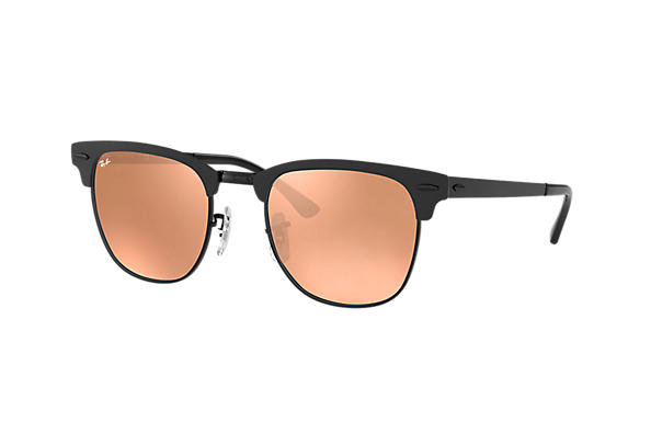Ray-Ban  prescription sunglasses RB3716 UNISEX P003 clubmaster metal black RX_8053672867060?roxLensPartNumber=Copper_Flash_SV