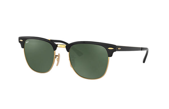 Ray-Ban 0RB3716-CLUBMASTER METAL Black,Gold ROX_FRAME