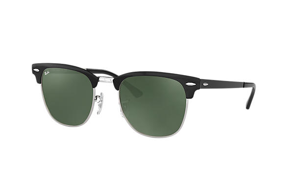 Ray-Ban 0RB3716-CLUBMASTER METAL Black,Silver ROX_FRAME