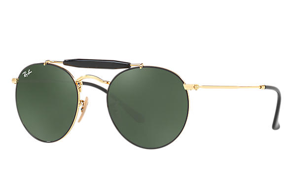 Ray-Ban 0RB3747-RB3747 Black,Gold; Gold ROX_FRAME