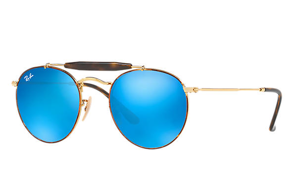 Ray-Ban 0RB3747-RB3747 Havana,Gold; Gold ROX_FRAME