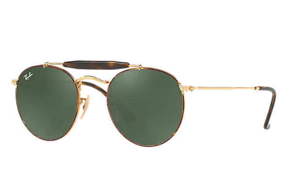 Ray-Ban 0RB3747-RB3747 Tortoise,Gold; Gold ROX_FRAME