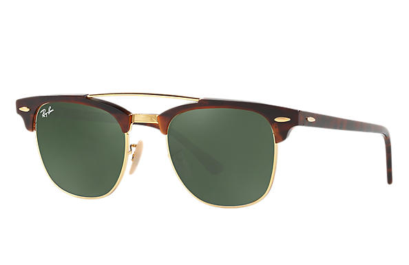 Ray-Ban 0RB3816-CLUBMASTER DOUBLE BRIDGE Tortoise ROX_FRAME