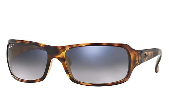 Ray-Ban  prescription sunglasses RB4075 FEMALE P001 rb4075 tortoise RX_805289097860?roxLensPartNumber=Blue_Grey_Gradient_Polar_SV