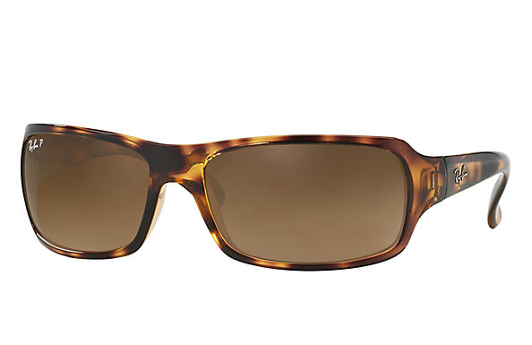 Ray-Ban  prescription sunglasses RB4075 FEMALE P001 rb4075 tortoise RX_805289097860?roxLensPartNumber=Brown_Gradient_Polar_SV