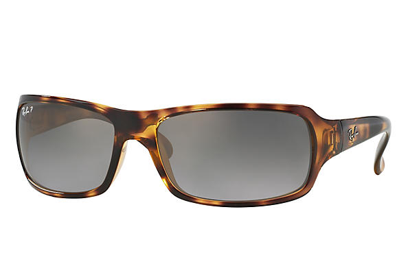 Ray-Ban  prescription sunglasses RB4075 FEMALE P001 rb4075 tortoise RX_805289097860?roxLensPartNumber=Grey_Gradient_Polar_SV