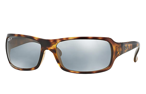 Ray-Ban  prescription sunglasses RB4075 FEMALE P001 rb4075 tortoise RX_805289097860?roxLensPartNumber=Silver_Flash_Polar_SV