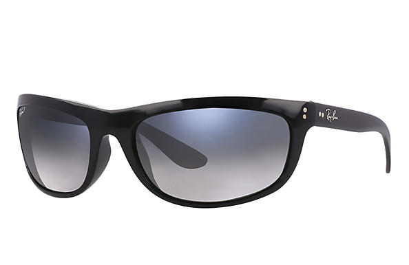 Ray-Ban  prescription sunglasses RB4089 MALE P004 balorama black RX_805289126089?roxLensPartNumber=Blue_Grey_Gradient_Polar_SV