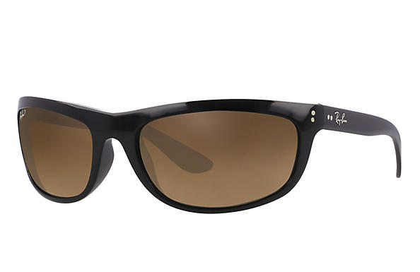 Ray-Ban  prescription sunglasses RB4089 MALE P004 balorama black RX_805289126089?roxLensPartNumber=Brown_Gradient_Polar_SV
