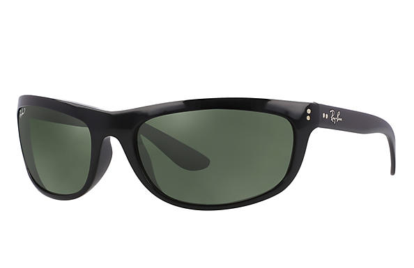 Ray-Ban  prescription sunglasses RB4089 MALE P004 balorama black RX_805289126089?roxLensPartNumber=Green_Classic_G 15_Polar_SV