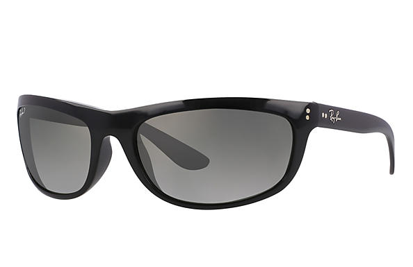 Ray-Ban  prescription sunglasses RB4089 MALE P004 balorama black RX_805289126089?roxLensPartNumber=Grey_Gradient_Polar_SV