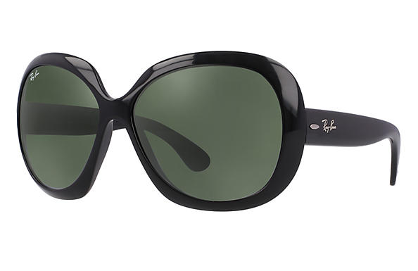 78e4548eff Ray-Ban Jackie Ohh Ii RB4098 Black - Nylon - Green Prescription ...