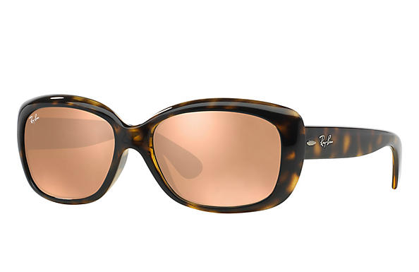 Ray-Ban  prescription sunglasses RB4101 FEMALE P010 jackie ohh tortoise RX_805289162438?roxLensPartNumber=Copper_Flash_SV