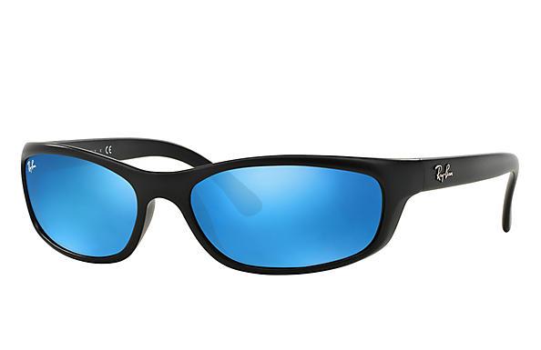 e61c961085 Ray-Ban RB4115 Black - Nylon - Green Prescription Lenses ...