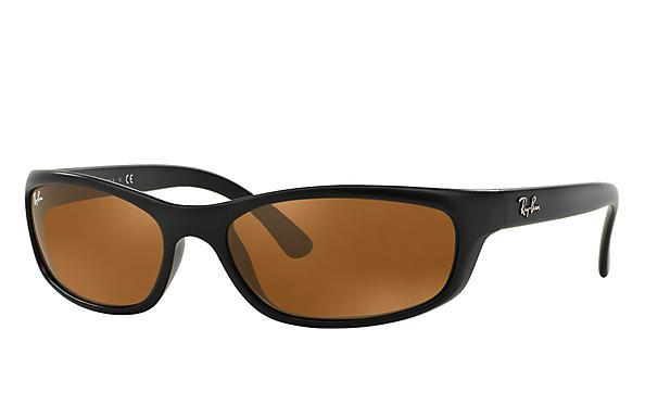 52ce388ddd334 Ray-Ban RB4115 Black - Nylon - Green Prescription Lenses ...