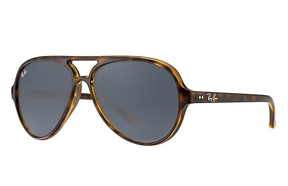 Ray-Ban  prescription sunglasses RB4125 UNISEX P015 cats 5000 tortoise RX_805289288695?roxLensPartNumber=Blue_Gray_Classic_SV