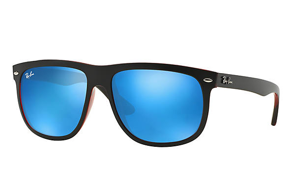Ray-Ban 0RB4147-RB4147 Schwarz,Rot ROX_FRAME