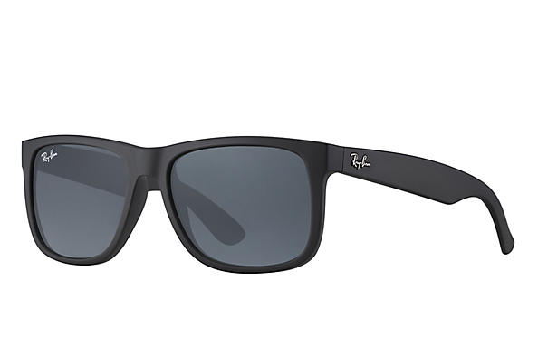 Ray-Ban  prescription sunglasses RB4165 UNISEX P012 justin black RX_805289526575?roxLensPartNumber=Blue_Gray_Classic_SV