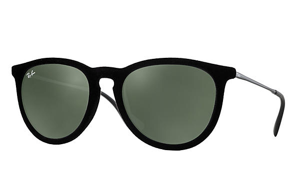 c57a5dc82e Ray-Ban Erika RB4171 Black Velvet - Nylon - Green Prescription ...