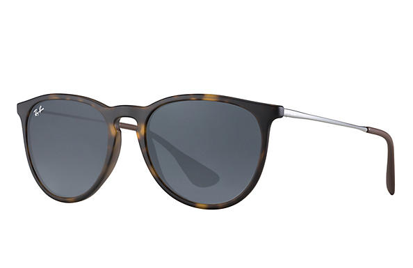Ray-Ban  prescription sunglasses RB4171 UNISEX P017 erika tortoise RX_805289742470?roxLensPartNumber=Blue_Gray_Classic_SV