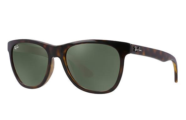 cd1635f255 Ray-Ban RB4184 Tortoise - Nylon - Green Prescription Lenses ...