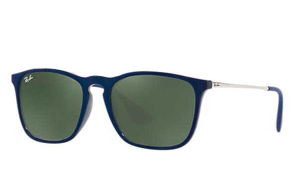 Ray-Ban 0RB4187-CHRIS Blue; Silver ROX_FRAME