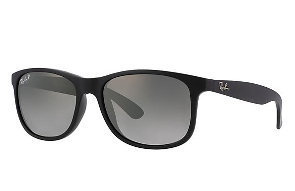 Ray-Ban 0RB4202-ANDY Black ROX_FRAME