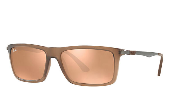 Ray-Ban  prescription sunglasses RB4214 MALE P001 rb4214 brown RX_8053672743333?roxLensPartNumber=Copper_Flash_SV