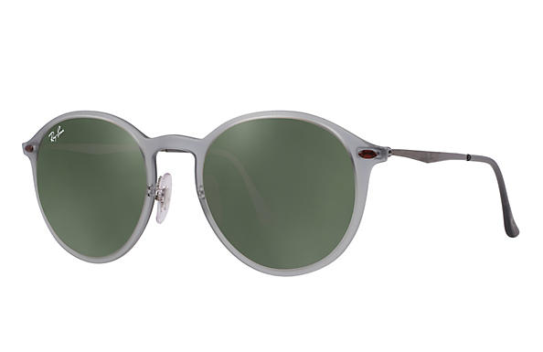 Ray-Ban 0RB4224-ROUND LIGHT RAY Grey; Silver ROX_FRAME