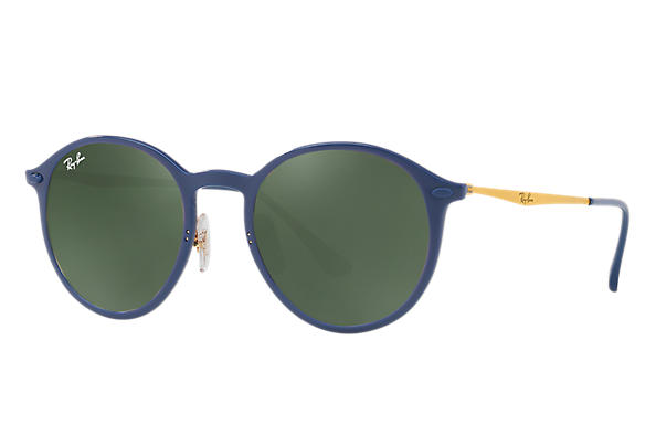 Ray-Ban 0RB4224-ROUND LIGHT RAY Blue; Gold ROX_FRAME
