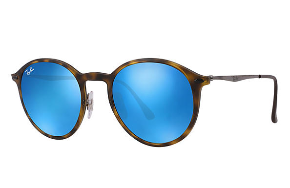 Ray-Ban 0RB4224-ROUND LIGHT RAY Havana; Gunmetal ROX_FRAME