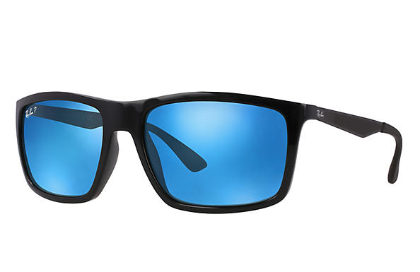 Ray-Ban  prescription sunglasses RB4228 MALE P004 rb4228 black RX_8053672406023?roxLensPartNumber=Blue_Flash_Polar_SV