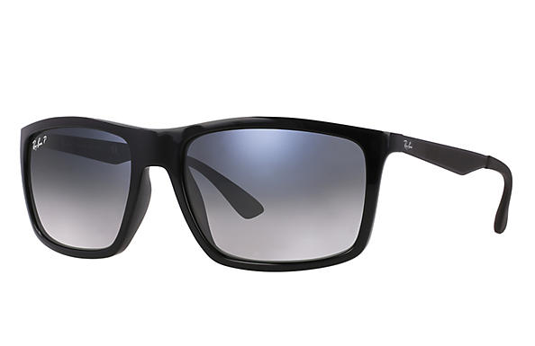 Ray-Ban  prescription sunglasses RB4228 MALE P004 rb4228 black RX_8053672406023?roxLensPartNumber=Blue_Grey_Gradient_Polar_SV