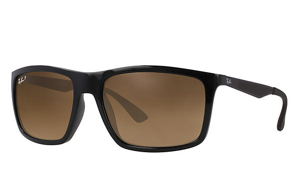 Ray-Ban  prescription sunglasses RB4228 MALE P004 rb4228 black RX_8053672406023?roxLensPartNumber=Brown_Gradient_Polar_SV