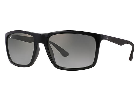 Ray-Ban  prescription sunglasses RB4228 MALE P004 rb4228 black RX_8053672406023?roxLensPartNumber=Grey_Gradient_Polar_SV
