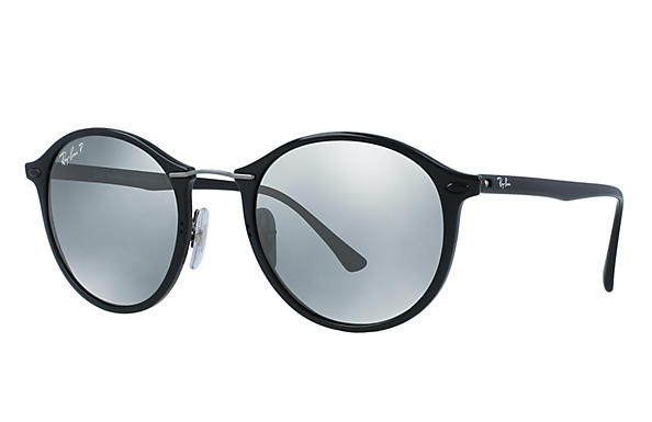 Ray-Ban  prescription sunglasses RB4242 UNISEX P006 rb4242 black RX_8053672498264?roxLensPartNumber=Silver_Flash_Polar_SV
