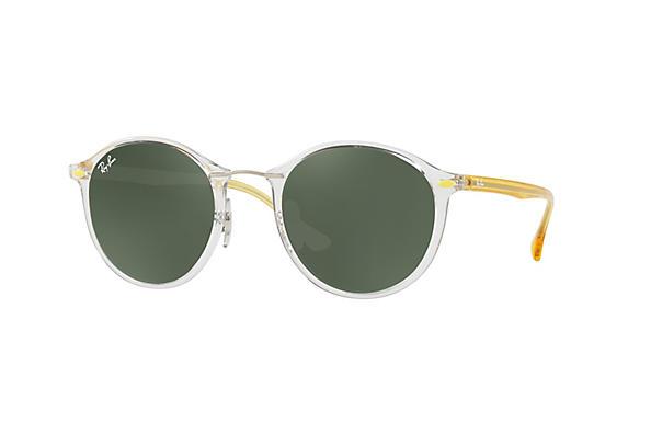 ecc63f93e2 Ray-Ban RB4242 Transparent - Nylon - Green Prescription Lenses ...