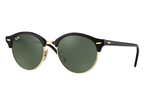 Ray-Ban 0RB4246-CLUBROUND Black ROX_FRAME