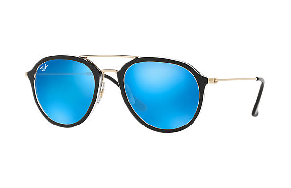 Ray-Ban 0RB4253-RB4253 Schwarz,Transparent; Gold ROX_FRAME