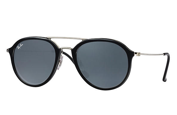 Ray-Ban  prescription sunglasses RB4253 UNISEX P001 rb4253 black RX_8053672738865?roxLensPartNumber=Blue_Gray_Classic_SV
