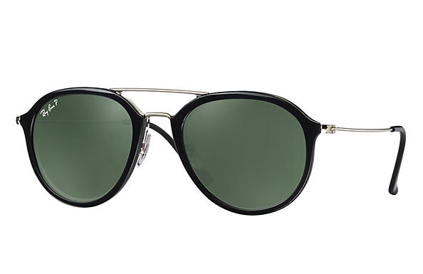 Ray-Ban  prescription sunglasses RB4253 UNISEX P001 rb4253 black RX_8053672738865?roxLensPartNumber=Green_Classic_G 15_Polar_SV